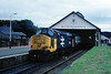Oldies start 2nite at a Far Northern outpost, which similarly to Thurso still retains it's train-shed station......2H60 37417 Highland Region at Wick prior to departure for Georgemas Jnc and Inverness 11-07-1988 (the.chair) Tags: 2h60 37417 highland region wick prior working georgemas jn inverness july 1988