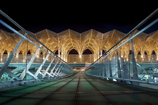 U-Bahnhof Oriente Lissabon