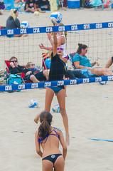 CBVA: AUG_0487 (Kevin MG) Tags: volleyball cbva beachvolleyball beach sand net ball action bikinis bathingsuit spike girl young youth cute pretty lttle team sport athlete athletic tournament