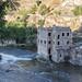Antiguo molino de San Servando sobre el Río Tajo, Toledo, España