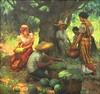Fernando Amorsolo: Mango Gatherers (Leo Cloma) Tags: philippines antique antiques art artwork makati leon gallery auction cloma