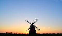Bjerre windmill (Neal J.Wilson) Tags: scandinavia danishlandscapes danish denmark nikon nordic sunsets sunrise dusk horizon silhouette mill windmill jutland jylland