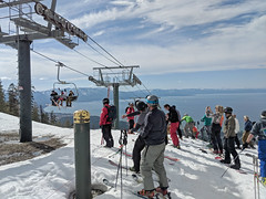 Closing day at Heavenly (benjaminfish) Tags: ski lake tahoe heavenly california gunbarrel april 2018 spring