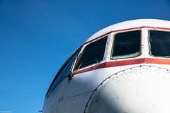Caravelle (rDLE_) Tags: aircraft old toulouse blagnac plane avion chasseur sud aviation caravelle
