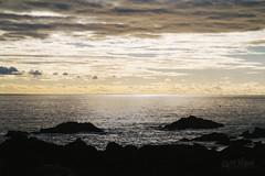 West Coast Warmth (wilbias) Tags: horizon over water coastline seascape sea ocean shore wave sunset coast ucluelet bc british canada clouds sky travel sun columbia pacific bright dynamc birds vancouver island