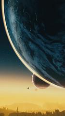 Small, Medium & XXXL (nicksoptima) Tags: nms nomanssky ps4 space scifi alien landscape planet screenshot starship