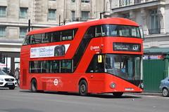 LT 960 (LTZ 2160) Arriva London (hotspur_star) Tags: londontransport londonbuses londonbus londonbuses2018 wrightbus newbusforlondon newroutemaster nb4l tfl transportforlondon hybridbus hybridtechnology busscene2018 doubledeck arrivalondon lt960 ltz2160 137 borisbus borismaster