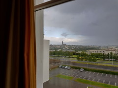 20170816-192000LC (Luc Coekaerts from Tessenderlo) Tags: iceland isl reykjavík seltjarnarnes cityshape hallgrímskirkja hotel ourhotel windowview splitdef16radissonblusagahotel public nobody cc0 creativecommons 20170816192000lc coeluc vak201708iceland