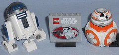 Lego - Star Wars Promos (Darth Ray) Tags: lego star wars promos starwars 2017 30611 may 4th r2d2 2015 tru force friday brick forcefriday 2018 40288 maythe4th bb8