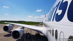 Lufthansa Boeing 747-8i (jakobwert) Tags: airplane aircraft airport ber sxf berlinbrandenburg ila ilaberlin airshow airline airplanes aviation avgeek airlines jet ila2018 berlin lufthansa boeing 747 7478