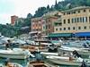 Portofino - crowded harbor (stevelamb007) Tags: italy portofino boats harbor crowded 2003 stevelamb