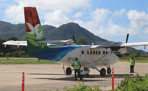 Air Seychelles / DHC6 400 Twin Otter / S7-LDI