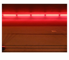 [ B L E U  /  B L A N C  /  R O U G E ] (michelle@c) Tags: urban cityscape city ground luminous neon waves wellen abstraction troiscouleurs blue white red blau weiss rot cinematographic tribute mmmkk parisxiii 2018 michellecourteau