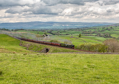 Cumbrian Mountain Express 12-5-2018 (KS Railway Gallery) Tags: cumbrian mountain express uk steam railway birkett british india line
