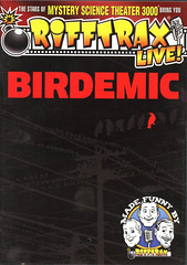 Rifftrax-Live-Birdemic (Count_Strad) Tags: movie dvd bluray rifftrax badmovie filmcrew horror action comedy drama blockbustervideo rules