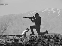 Iron soldier on Mount Bental at the Golan Heights (JERRY TAHA PHOTOGRAPHY) Tags: israel israël travel traveler reizen reis worldtravel world golan golanhoogte golanheights yomkippur 1973 syria libanon war observationpoint mountain mountbental bental mount jerrytaha jerrytahatravel