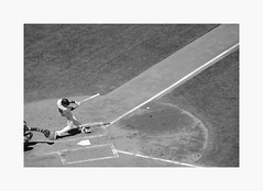 Buster Posey (bnishimoto) Tags: att sanfrancisco baseball bayarea fujifilm fuji acros blackandwhite monochrome people stadium sport xpro2 50230mm