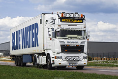 Scania R520 V8 Streamline Topline- Przestrzelski (PL) (Michał Szczerbowski) Tags: scania r520 v8 streamline przestrzelski naczepa chłodnia tuning spotkanie topline express krystian