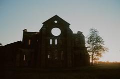 Abbazia di San Galgano (michele.palombi) Tags: abbazia san galgano chiusdino film 35mm kodak portra160 tuscany valle orcia