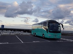 Coach by Harbour (coachhirecomparison) Tags: coach hire harbour sunset bay boats