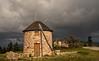 Time Travel (Chizuka2010) Tags: windmill moulinàvent penacova portugal travelthroughportugal travelphotography cloudysky clouds storm stormyweather weather rain nuages nuageux ciel copyrightluciegagnon chizuka2010 panasonicg9 g9 leica dg 818f2840mm leixa 818mm