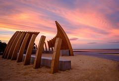 Good bones (lizcaldwell72) Tags: marineparade sky hawkesbay newzealand sunset napier light