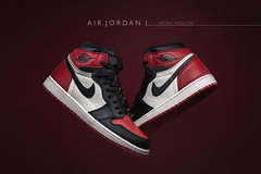 Air Jordan 1 Retro High OG ( Bred Toe ). (Andy @ Pang Ket Vui ( shootx2 )) Tags: nike jordan air bred toe og high retro sneaker street basketball fashion product