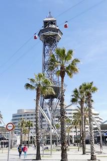 Torre de Jaume I Port Vell Barcelona Spain 2018