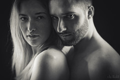 2 (RickB500) Tags: portrait girl rickb rickb500 model beauty expression face cute hair boy pair couple