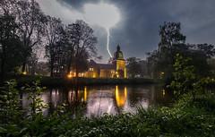 Thunderstruck ! (andreasmally) Tags: thunderstruck thunderstorm gewitter blitz donner fürstenau rain regen castle schloss