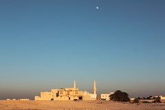 Qatar (chearn73) Tags: doha qatar 2012 mosque sky goldenhour gulf desert religion travel