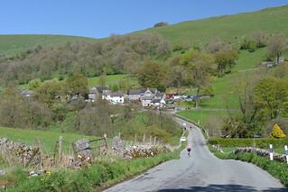 The Village of Crowdecote, Peak District National Park, Derbyshire Dales, England.