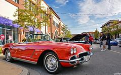 1962 Chevrolet Corvette (Chad Horwedel) Tags: 1962chevroletcorvette chevroletcorvette chevrolet chevy corvette classic car convertible supercarsaturday promenademall bolingbrook illinois