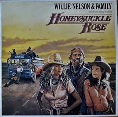 Willie Nelson & Family - Honeysuckle Rose (KvikneFoto) Tags: vinyl lp record recordcover 33rpm willienelson soundtrack