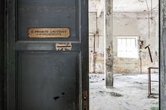 Forbidden (Seb Lo Turco) Tags: abbandono abandonedfactory decay urbex postiabbandonati deindustrialization