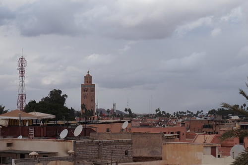 Marrakech Skyline, Morroco