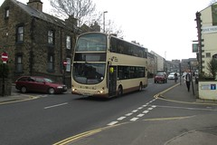37524, Whitham Road, Sheffield, 24/04/18 (aecregent) Tags: sheffield first firstsouthyorkshire sypte southyorkshirepte volvo b9tl wright eclipsegemini 37524 524 yn58etr commemorative