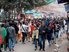 Kolkata - Central market (sharko333) Tags: travel reise voyage asia asien indien india kolkata kalkutta centralmarket people street olympus em1