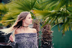 Palmtrees in the cold by jeels photography - Model: Olivia Tegelberg | Location: Trollhättan, Sweden  Homepage | 500px | facebook | twitter | instagram | blog | STREETFASHION MAGZZINE