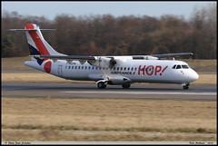 ATR72 600 HOP! F-HOPN 1288 Bale Mulhouse mars 2018 (paulschaller67) Tags: atr72 600 hop fhopn 1288 bale mulhouse mars 2018