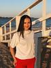 Raspberry Sunset (awaylastdays) Tags: iphoneography iphonephoto iphone8plus iphonephotography iphone mobilephotography mobilephoto portrait girl beautiful beach beaty spring sunset sun ukraine ua cherkassy color colors cherkasy sky water red mobile