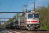 SEPTA AEM-7 #2307 @ Yardley, PA (Darryl Rule's Photography) Tags: 6374 aem7 outbound pa passenger passengertrain pennsylvania septa spax westtrenton yardley