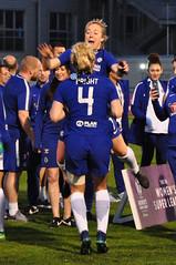 Chelsea are Champions (Baker_1000) Tags: 2018 bristol stokegifford bristolcitywomen stokegiffordstadium football womensfootball chelsea chelsealadies womenssuperleague wsl champions nikon d90 nikond90