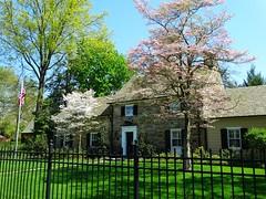 Spring Shade (e r j k . a m e r j k a) Tags: pennsylvania edgeworth home abode spring landscape fence shadows pa65 i79pa erjk explore