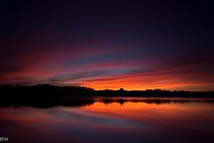 Epic Merrimack Valley Sunset (MikeWeinhold) Tags: sunset freemanlake merrimackvalley crystal lake northchelmsford chelmsford longexposure leefilters bigstopper sky