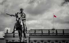 Monumento a Józef A. Poniatowski (1763-1813), aristócrata y militar polaco. (Felipe G.Fuertes) Tags: