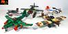 Eínon´s Japanese Plane Collection (Eínon) Tags: japanese planes collection plane lego ww2 world war two fighter interceptor jet bomber diver attack floatplane japan
