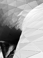 BMW-Welt München (uweihmueller) Tags: architektur architecture metall metal münchen munich monochrome spiegelung