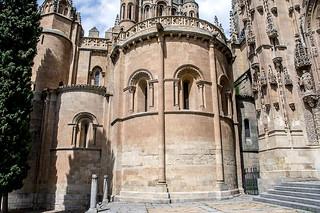 Catedral Vieja de Salamanca, ábsides