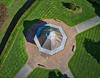 The Band Stand (highlights6) Tags: stockport dji mavicair path bandstand grass fromabove hdr